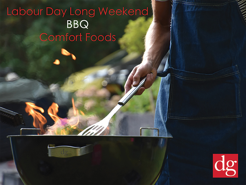 Labour Day Long Weekend BBQ Comfort Foods